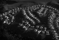 San Ramon at Daybreak, An Aerial View