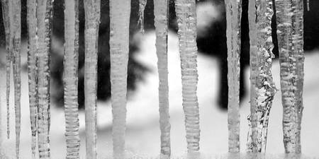 Behind Icicle Bars