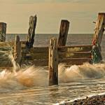 """Old Sea Defence"" by British-landscapes"