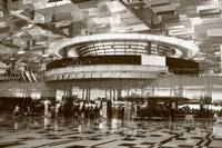 Original monochrome - changi airport Singapore