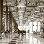 """Original monochrome - changi airport Singapore"" by sghomedeco"