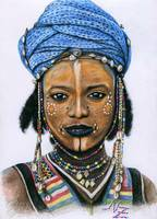 Young Wodaabe Man