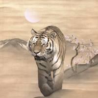 Walking Tiger by I.M. Spadecaller