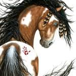 """Spirit Paint - Majestic Horse"" by AmyLynBihrle"