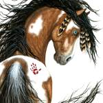 """Spirit Paint - Majestic Horse"" by AmyLynBihrle"
