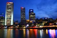 Original Color Series - City by Night Singapore