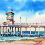 """Surf City Pier"" by WillyDaleArt"