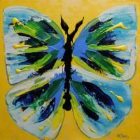 Butterfly Hues Art Prints & Posters by Christine K. Jones