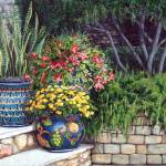 """Painted Pots"" by marypalmer"