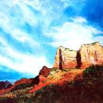 """Sedona Mountains"" by marypalmer"