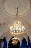 The Chandeliers in The Gothic Room