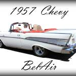 """1957 Chevy BelAir"" by bettynorthcutt"