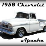 """1958 Chevrolet Apache"" by bettynorthcutt"
