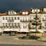 """Camoes square in Ponte de Lima, Portugal"" by vribeiro"