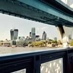 """Tower Bridge frames skyline"" by PhilippNB"
