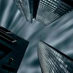 """""""Three Buildings skywards"""" by PhilippNB"""
