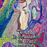 """""""courage and fear"""" by DCLWolf"""