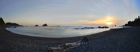 False Klamath Cove Sunset Photographer