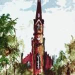 """""""Charleston South Carolina St Mathews Church"""" by GinetteCallaway"""