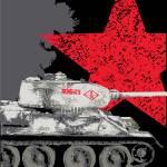"""""""T34/85 Russian tank"""" by tankterror"""