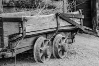 The Wooden Mine Cart