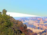 Grand Canyon in Pop Art