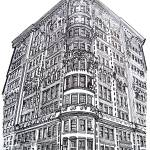 """Madison Avenue, New York City, by RD Riccoboni"" by BeaconArtWorksCorporation"