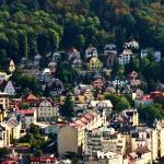 """A View Of Karlovy Vary Art Nouvearu Buildings"" by picturesbybgale"
