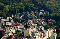 A View Of Karlovy Vary Art Nouvearu Buildings