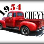 """1954 Chevy"" by bettynorthcutt"