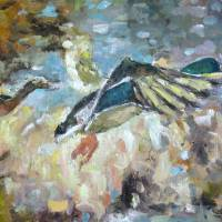 Duck River Aptly Named Art Prints & Posters by Susan E Jones