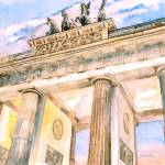 """The Brandenburg Gate"" by ShaSha"
