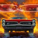 """1967 Pontiac Tempest Lemans GTO"" by garthglazier"