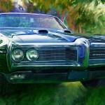 """1968 Pontiac Tempest in the Park"" by garthglazier"