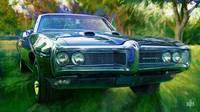 1968 Pontiac Tempest in the Park