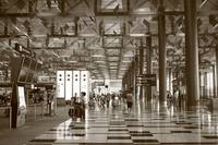 Singapore in monochrome, Changi airport