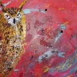 """""""golden owl"""" by gallerymay"""