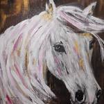 """""""Winter horse"""" by gallerymay"""
