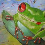 """""""happy frog"""" by gallerymay"""