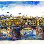 """Ponte Vecchio Bridge"" by randysprout2004"