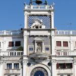 """Clock tower building, Venice."" by FernandoBarozza"