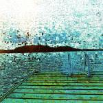 """Sunset Swim"" by artbyclaire"