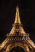 SPARKLY EIFFEL TOWER | CHAMP DE MARS, PARIS