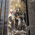 """Statue of St. Francis, Stephansdom."" by FernandoBarozza"