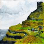 """Faroe Islands square study 1"" by zurika"