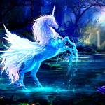 """""""Winged Unicorn"""" by dimensionalelements"""