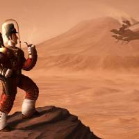 Olympus Mons Art Prints & Posters by Michael Dashow