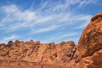 Wispy Clouds - Valley of Fire