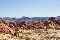 Multi Colored Rock Formations - Valley of Fire