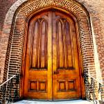 """First Presbyterian Church Doors Huntsville"" by kFergPhotos"